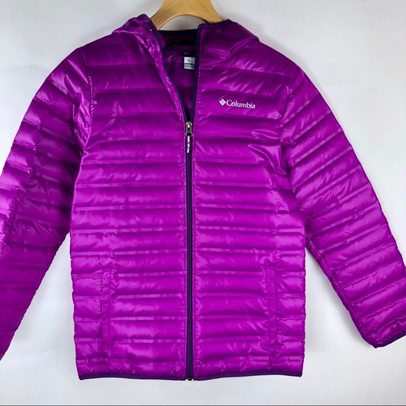 Columbia Other - Columbia Youth Pink Powder Lite Hooded Jacket